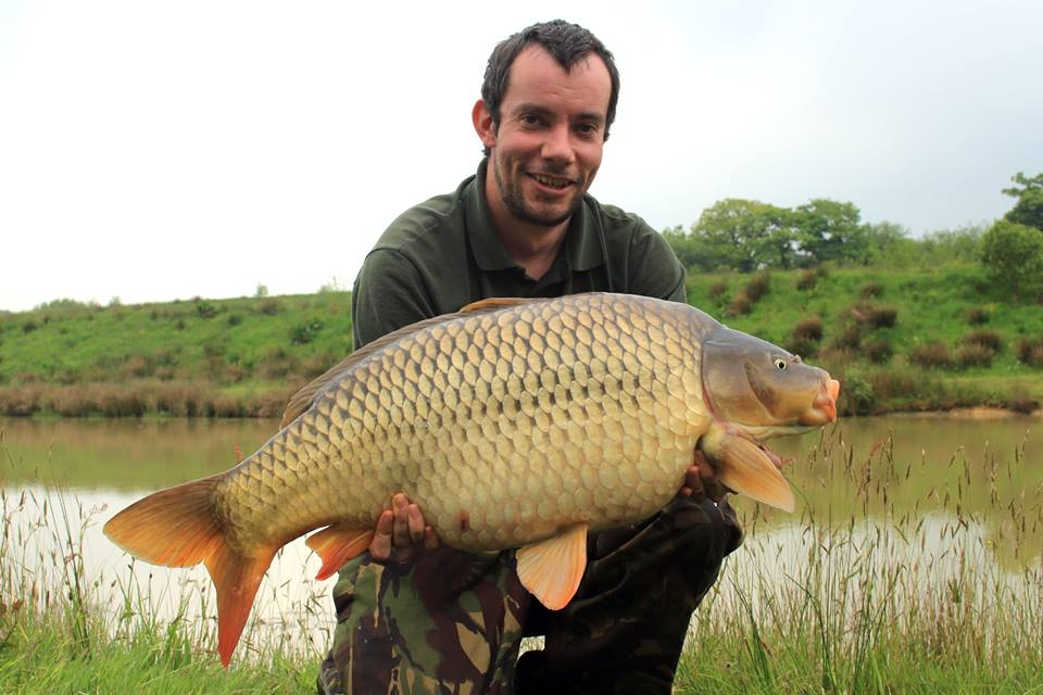 Jacob Wise 26lb 4oz Common carp