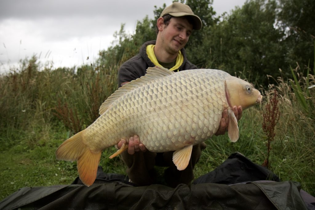 Chris Blythe with a stunning willow ghosty at 20+