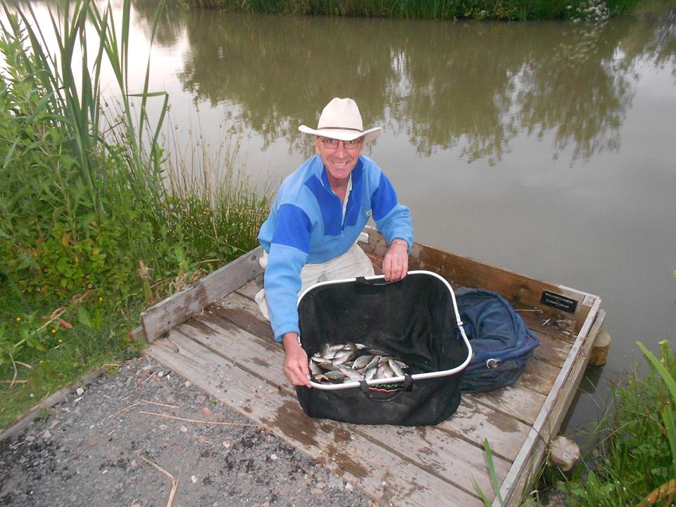 Martin Turner's winning net of silvers.