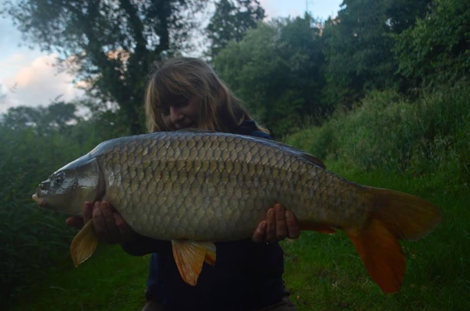 Sue Seton Smith 20lb 10oz common carp
