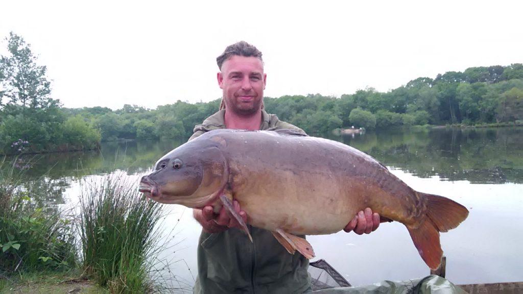 Jason Barrett 29lb 6oz mirror carp